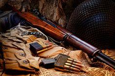 Garand by J Scott Yamil Sued, via Behance Military Surplus, Military Weapons, Weapons Guns, Guns And Ammo, M1 Garand, Secret Rooms, Tactical Knives, Self Defense, Usmc