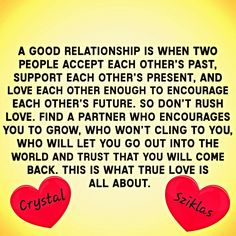 Good relationship. ©rystal Sziklās. Please feel free to save, follow and share. Namaste.
