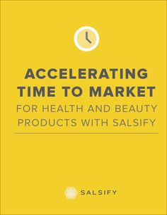 Salsify Case Study Accelerating Time to Market