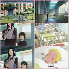 Baby naruto and sasuke. This hurts my heart to see Sasuke's family there for him, but not Naruto's.. Through, this also shows that they were destin to be friends.