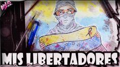 MIS LIBERTADORES SOS Venezuela ╬ Ilustración dedicada a nuestros liberta...