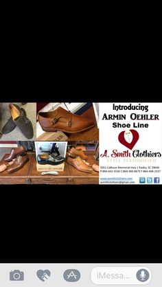 A.Smith Clothiers now carries Armin Oehler shoe line!