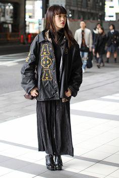 Tokyo Fashion Week Fall 2016 street style