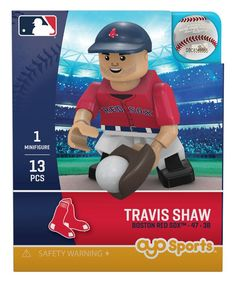 b90506dcd22 Boston Red Sox TRAVIS SHAW Limited Edition OYO Minifigure