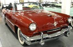 1952 Lincoln Capri Convertible, Photographed at the Sunbelt Auto Museum in Las Vegas, Nevada.