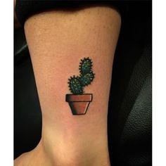 cute cactus tattoo - Pesquisa Google