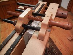Bookbinding Plough and Lying Press by Illtyd Perkins Woodworking.