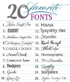 Free Fonts | You can download all the fonts at the website.