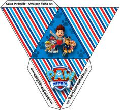 - Oh My Fiesta! in english Paw Patrol Cake, Paw Patrol Birthday, Printable Box, Printables, Imprimibles Paw Patrol, Paw Patrol Party Decorations, Dog Themed Parties, Cumple Paw Patrol, Paw Patrol Invitations