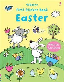 First sticker book: Easter