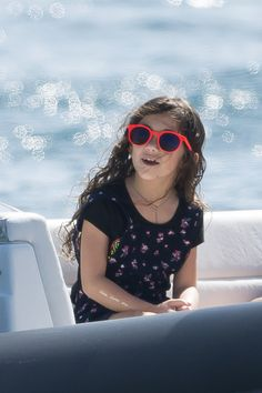 Salma Hayek's Daughter Is Made In The Shade - http://site.celebritybabyscoop.com/cbs/2014/12/29/hayeks-daughter-shade #ChristmasHolidays, #France, #FrancoiseHenriPinault, #Holiday, #SalmaHayek, #StBarths, #Vacation, #ValentinaPinault, #Yacht