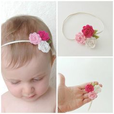 Hey, I found this really awesome Etsy listing at https://www.etsy.com/listing/198134682/wool-felt-flower-headband-trio-flowers