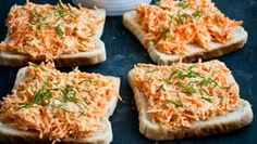 Mrkvová pomazánka  Foto: Low Carb Recipes, Vegetarian Recipes, Cooking Recipes, Healthy Recipes, Healthy Cooking, Healthy Snacks, Good Food, Yummy Food, Czech Recipes