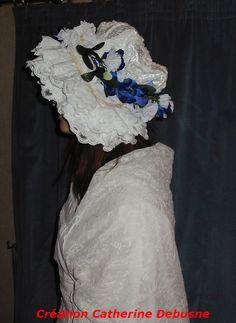 Coiffe de mariée de Comté http://fabophile.fr/index.php/fr/feves/creations/feves-histoire-civilisation.html