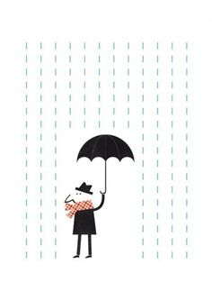 It's raining. (Mr.) by Blanca Gomez