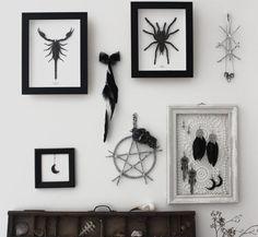 Pure Witch . décoration pentacle de protection par BoudoirDuChaman