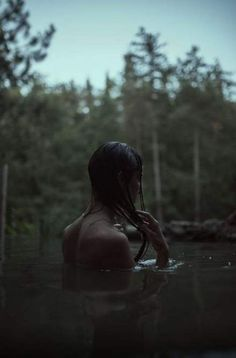 Forest bathing by Alessio Albi - Photo 165833185 - Forest Drawing, Forest Painting, Water Aesthetic, Aesthetic Girl, Aesthetic Light, Fantasy Forest, Dark Forest, Snow Forest, Autumn Forest