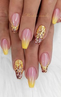 65 Summer Chic Short Sqaure Nails Design To Look Great - Page 3 of 65 - Beautiful Nails Pretty Nail Designs, Pretty Nail Art, Simple Nail Designs, Beautiful Nail Art, Nail Art Designs, Nails Design, Fabulous Nails, Gorgeous Nails, Sqaure Nails