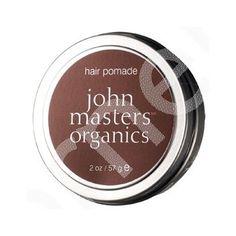 La pommade capillaire bio John Masters Organics est un soin capillaire extrêmement efficace qui apporte force et éclat aux cheveux. Enrichie en cire d'abeille, en beurre de mangue et en huiles essentiels bio, elle permet d'hydrater et de fixer les cheveux, tout en les protégeant contre la chaleur des appareils coiffants ( sèche-cheveux, fer etc...).  Elle est idéale pour fixer les cheveux lissés ou bouclés, pour un style souple et naturel sans effet collant.