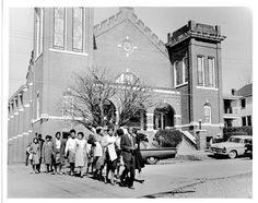 9. These folks are peacefully demonstrating for civil rights in Columbia in the 1960s.