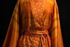 Kimono Moise Arancio Från Bassetti Granfoulard
