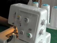 Changing Threads on a Serger.  A FREE article, guide and fashion sewing video tutorial, only at http://www.fashionsewingblog.com