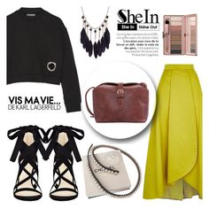 """Vis ma vie"" by isha-saxena ❤ liked on Polyvore featuring T By Alexander Wang, Pinko, Chanel and Nine West"