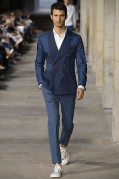 Hermes Spring-Summer 2013 Paris Men's Fashion Week ~Luxurious Punch- I must have this suit!
