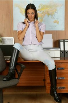 Riding Habit, Riding Gear, Equestrian Outfits, Equestrian Style, Horse Riding Boots, Riding Breeches, Sexy Cowgirl, Bored At Work, Country Fashion