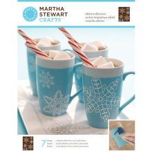 Martha Stewart Crafts Glass Silkscreen, Snowflakes