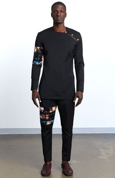 Threaded Culture is the home for Contemporary African clothing, We've re-envision what African fashion and its aesthetic looks like through a unique approach towards design,and innovative construction methods. African Attire For Men, African Clothing For Men, African Shirts, African Wear, African Dress, African Style, African Fabric, African Fashion Designers, African Men Fashion