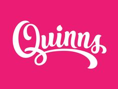 @Dribbble exclusive for the new logo for Quinns Gelato 'handcrafted' Ice cream in Northern Ireland