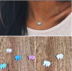Ivory Ella-Elephant Necklace In love! @ivoryella