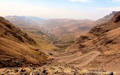 Sani Pass self drive - Road to the sky - The Travelling Chilli Mountain Pass, Self Driving, South Africa, Grand Canyon, Scenery, Environment, Sky, Adventure, Roads