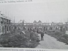 Thomand Rd being built Photo Engraving, Dublin Ireland, Old Photos, House Building, Places, Paintings, Old Pictures, Building Homes, Paint
