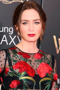 Today's Beauty Muse: Emily Blunt