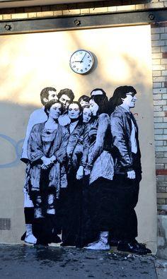 "Let's take a look at French street art ""Levalet"" enough – Graffiti World Street Art Banksy, 3d Street Art, Graffiti Art, Best Graffiti, Murals Street Art, Amazing Street Art, Art Mural, Street Artists, Art Public"