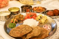 The Great Indian Thali | Menu and Recipes