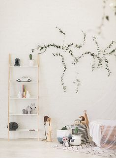 A simple, minimal and fuss free nursery that is just beautiful