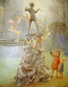 Peter Pan print by Margaret Tarrant - 1888 - 1950