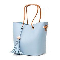 Coseey Womens Tassle Tote Bag in Blue Coseey https://www.amazon.com/dp/B06ZYB125J/ref=cm_sw_r_pi_dp_x_g2xezbW6814XP