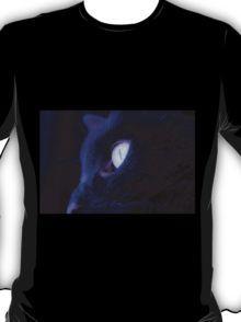Black cat eye T-Shirt