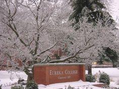 Eureka College in the Winter