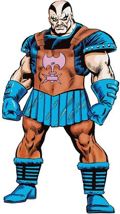 Executioner - Thor enemy - Marvel Comics - Skurge