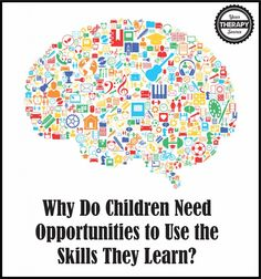 When children are able to use new skills in meaningful activities they create stronger neural networks to maintain and transfer new skills. Learning Tips, Kids Learning, Motor Skills Activities, Gross Motor Skills, Speech Language Pathology, Speech And Language, Motor Planning, Activities Of Daily Living, Pediatric Occupational Therapy