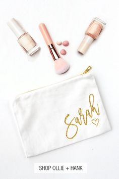 A perfect gift If you have nice eyebrows you literally have everything in life Quality zip pouch hand screen printed to make your day!