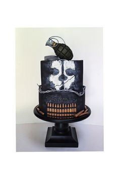 Call of duty cake. Follow me on Instagram and Facebook. Isabella's sweet tooth :) | Flickr - Photo Sharing!