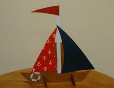 Topo de bolo festa tema marinheiro