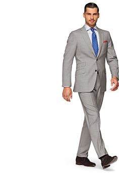 Fab look: Light Grey Sienna Suit from (of course) Suitsupply