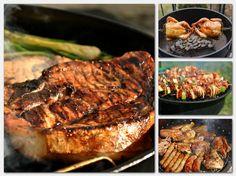 A grillen sütött ételek íze káprázatos! Remek családi program a kerti sütögetés, így most összegyűjtöttük a legjobb grillrecepteket, hogy mindenki találhasson közöttük olyat, amely elnyeri[...] Grill Party, Barbecue, Steak, Bacon, Pork, Food And Drink, Cooking Recipes, Foods, Drinks